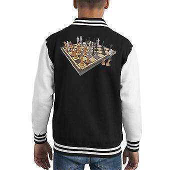 Ursprungliga Stormtrooper Chess Board Kid's Varsity jacka