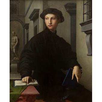Ugolino Martelli, Agnolo Bronzino, 50x40cm