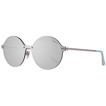 Pepe jeans metal sunglasses mirrored silver