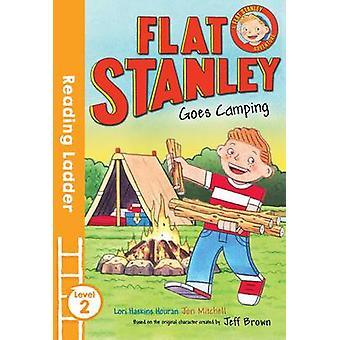 Flat Stanley va campeggio da Jeff Brown - Jon Mitchell - 978140528208