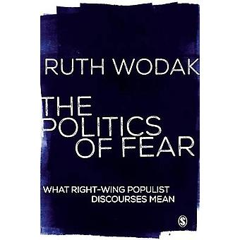 The Politics of Fear - Analyzing Right-Wing Popular Discourse by Ruth