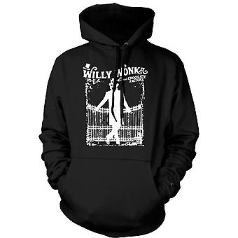 Kinderen Hoodie - Willy Wonka And Chocolate Factory - BW