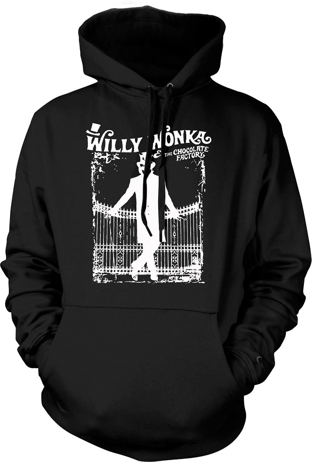 Enfant Sweat Capuche - Willy Wonka Et Chocolate Factory - BW
