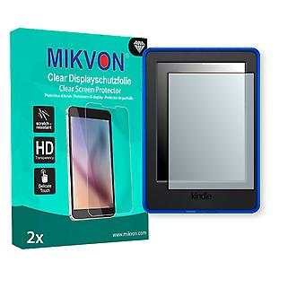 Amazon Kindle for Kids Bundle Screen Protector - Mikvon Clear (Retail Package with accessories)