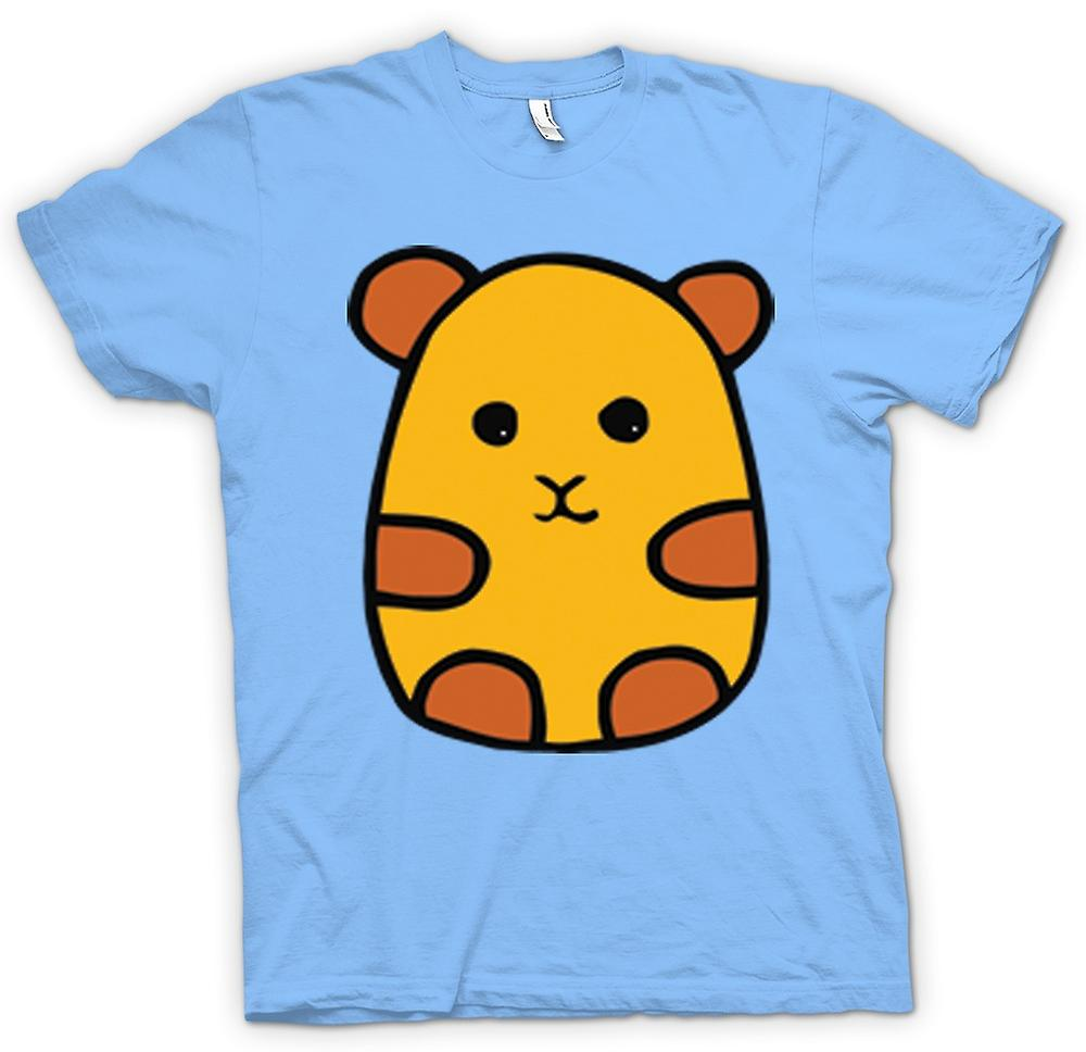 Heren T-shirt-Cartoon Hamster Design