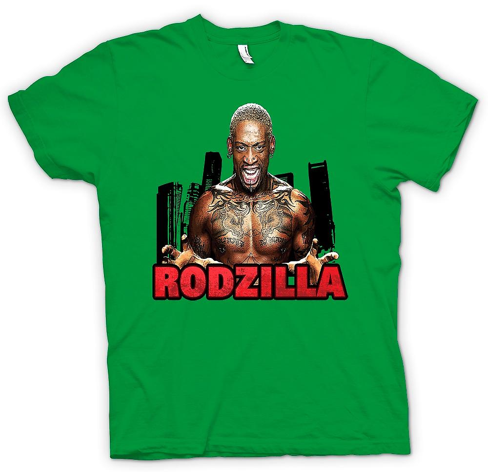 Mens T-shirt - Rodzilla - Rodman Tattoo