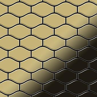 Mosaico de metal sólido Latón ALLOY Karma-BM