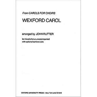 Wexford Carol: Klavierauszug