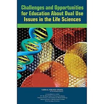 Sfide e opportunità per l'educazione sui problemi di duplice uso delle scienze della vita