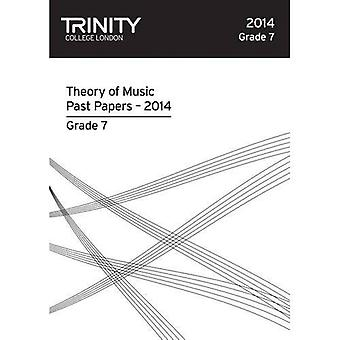 Trinity College London Music Theory Past Papers (2014) Grade 7