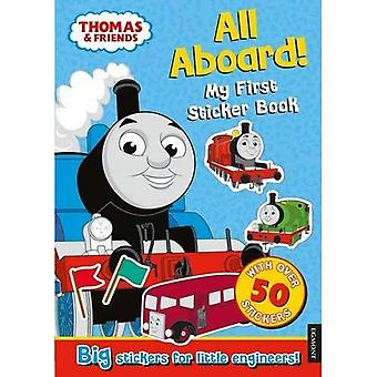 Thomas & Friends: All Aboard! My First Sticker Book