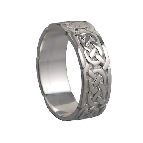 Silver 6mm Celtic Wedding Ring