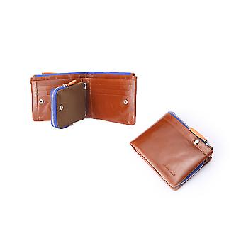 Hautton Tan Sports Leather Wallet 4.5