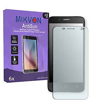 Alcatel One Touch Idol Mini 6012X Screen Protector - Mikvon AntiSun (Retail Package with accessories)