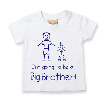 I'm Going To Be a Big Brother White Tshirt