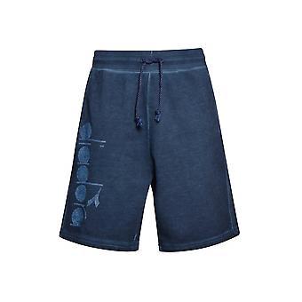 Diadora Diadora Blue Denim Jersey Shorts