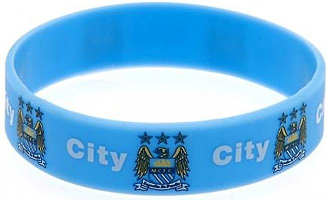 Manchester City FC silicone wristband   (bb)