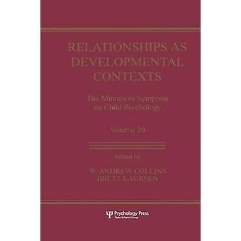 Relationer som utvecklande sammanhang de Minnesota symposier på barn psykologi volym 30 av Collins & W. Andrew