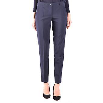 Armani Jeans Blue Polyester Pants