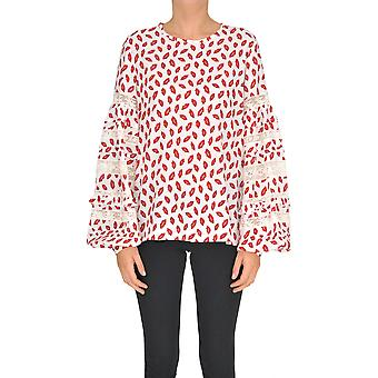 P.a.r.o.s.h. White Silk Sweater