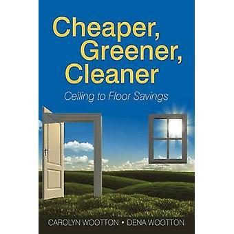 Billiger grüner sauberer Decke bis zum Boden Einsparungen von Wootton & Carolyn