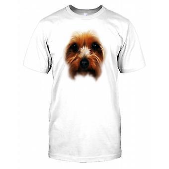 Yorkshire-Terrier Stammbaum Hund Gesicht Herren T Shirt