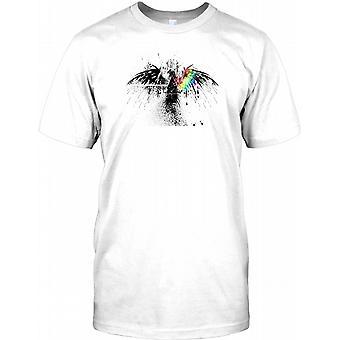 Dark Side - Eagle and Prism -  Mens T Shirt