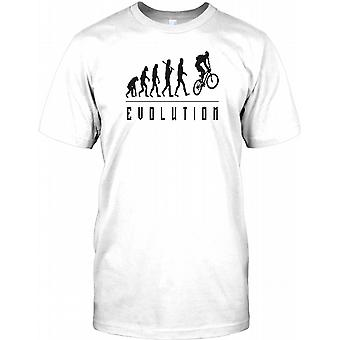 Mountain Bike Evolution - MTB Mens T Shirt
