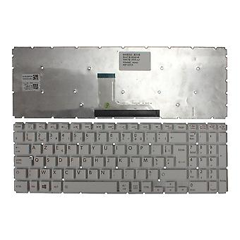 Toshiba Satellite L50-B-1PN witte Windows 8 Franse Layout vervanging Laptop toetsenbord