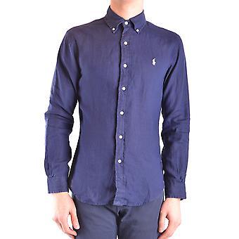 Ralph Lauren Blue Linen Shirt
