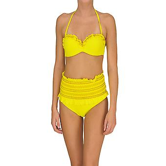 Twin-set Yellow Cotton One-piece Suit