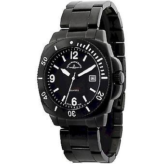 Zeno-Watch Herrenuhr Diver Look black 440AQ-bk-a1M
