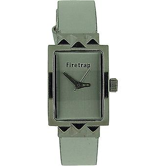 Firetrap Ladies Analogue White Dial & White Leather Strap Casual Watch FT1053W