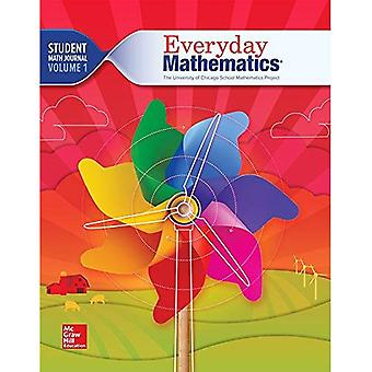 Mc-Graw-Hill Everyday matematica 4, 1st grade studente Math Journal Volume 1