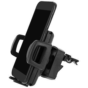 Soporte universal para coche para smartphone Rotary 360 ° HR-iMotion Ventilation Grill