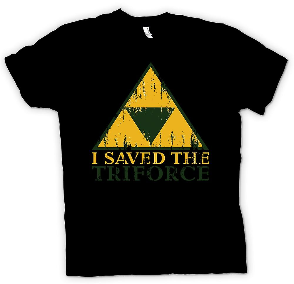 Barn T-shirt - jag sparade TriForce - Legend Of Zelda inspirerad