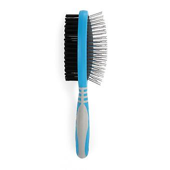 Ancol Ergo Double Sided Pet Grooming Brush