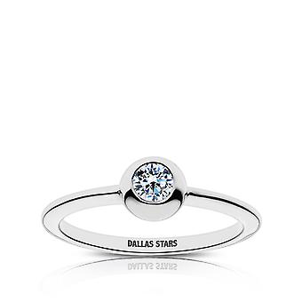 Dallas Stars Dallas Stars Engraved Diamond Ring