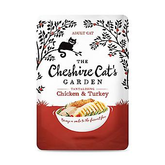 Cheshire Cat's Garden Chicken and Turkey Wet Cat Food - 1 X 85g