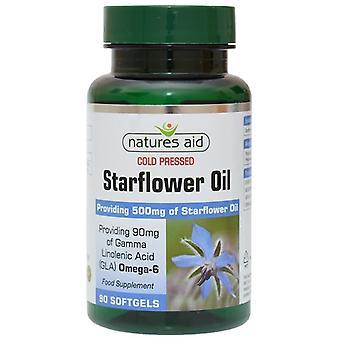 Nature's Aid Starflower Oil 500mg Softgels 90