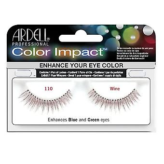 Ardell Color Impact Lashes - Wine - 110