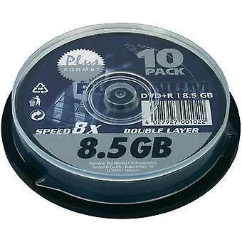 Blank DVD+R DL 8.5 GB Platinum 100026 10 pc(s) Spindle