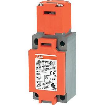 Safety button 400 Vac 1.8 A separate actuator momentary ABB LS43P80D12-S IP65 1 pc(s)