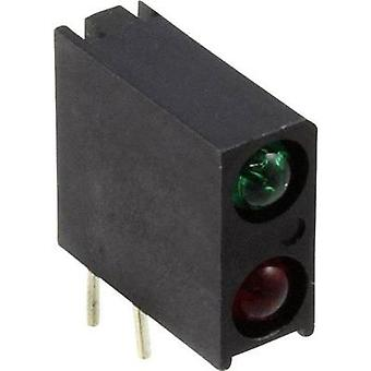 LED component Green, Red (L x W x H) 13.33 x 10.92 x 4.32 mm Dialight