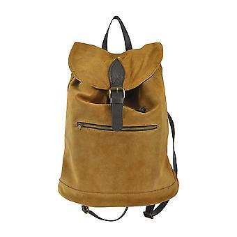 CTM Backpack for women suede leather made in italy