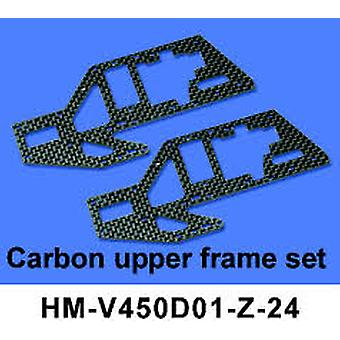 Kohlenstoff-oberen Frame-Set