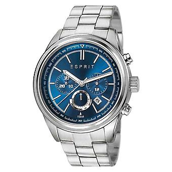 ESPRIT mens watch wristwatch Ray stainless steel Chrono ES107541005