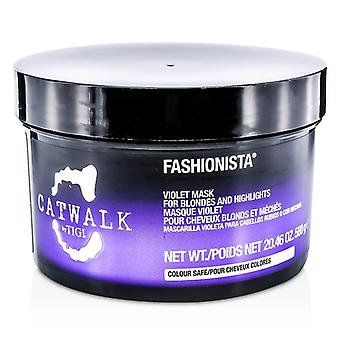 TIGI Catwalk Fashionista violett-Maske (für Blondinen und Highlights) 580g / 20,46 oz