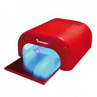Perfect Beauty Red Nail Lamp Uva (Beauty , Make-up , Nails , Hair salon tools)