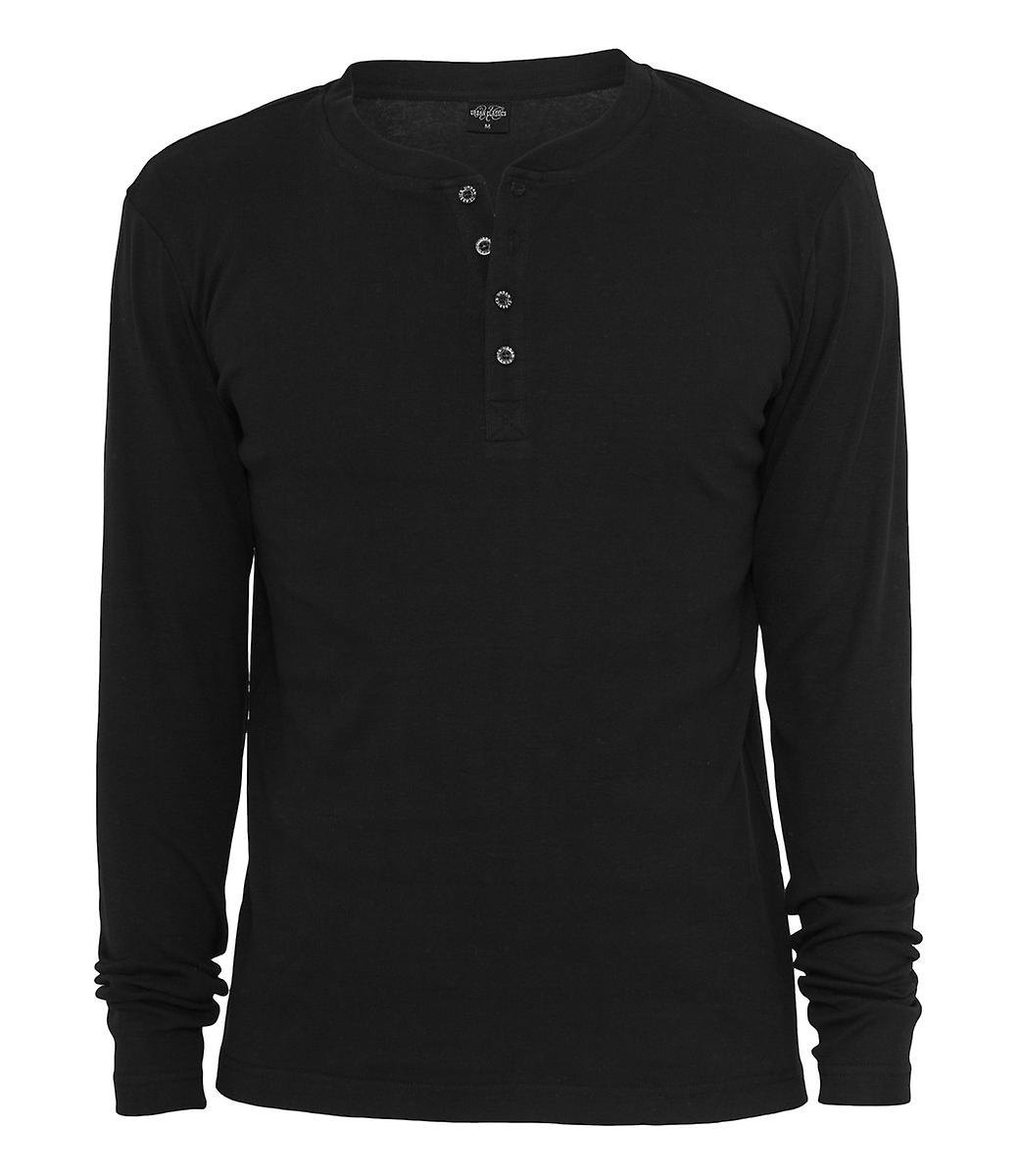 Urban classics slim 1by1 Henley L / S tee